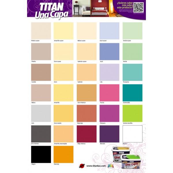 Titan una capa colores 4 litros nogelsa for Pintura color canela